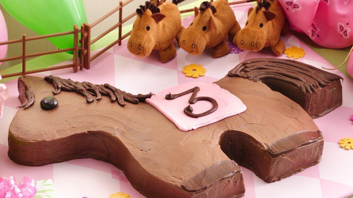 Très Gâteau poney - Vivre délicieusement WI09