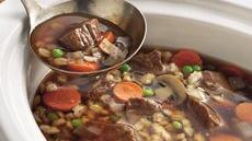 Beef-Barley Soup Recipe