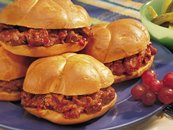 Barbecued Roast Beef Sandwiches