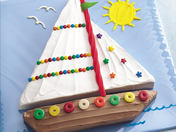 Sailboat Cake