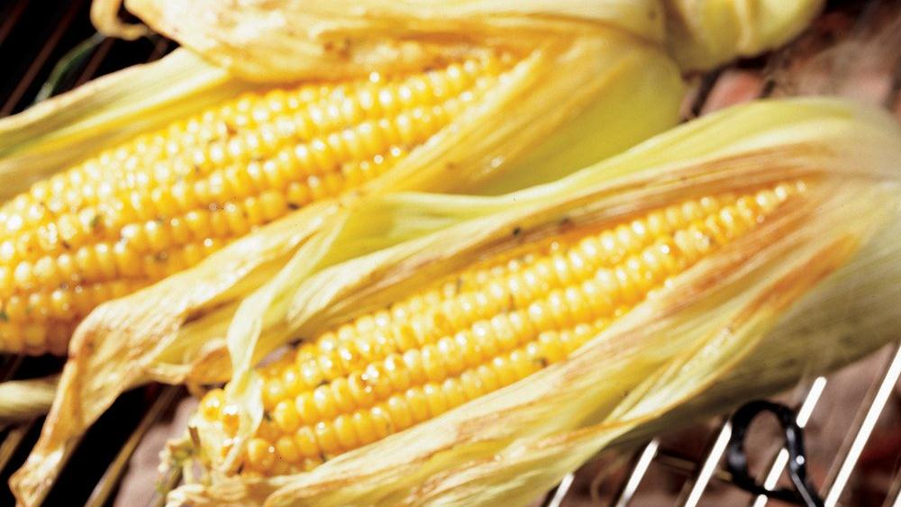 Tarragon-Mustard Corn On The Cob