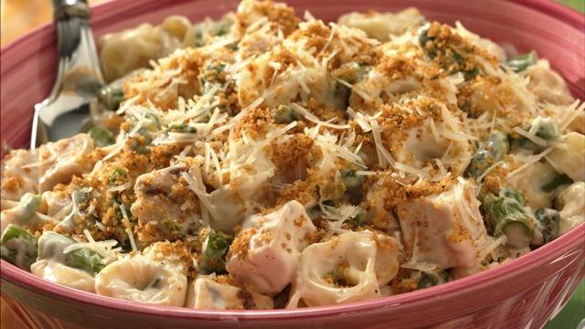Spring Chicken-Tortellini Casserole
