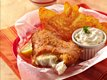 Southwestern Beer-Batter Fish with Green Chile Tartar Sauce