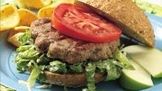 Grilled Caesar Turkey Burgers Recipe