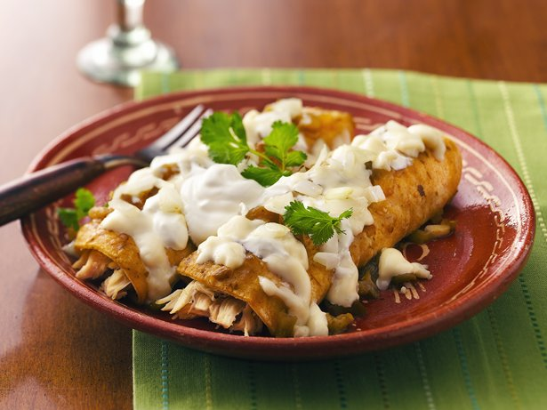 Enchiladas Verde