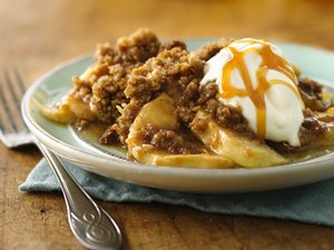 Caramel-Butterscotch&#32;Apple&#32;Crisp&#32;(White&#32;Whole&#32;Wheat&#32;Flour)