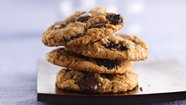 Dark Chocolate Cherry Multigrain Cookies