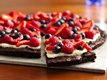 Gluten Free Brownie &#39;n Berries Dessert Pizza