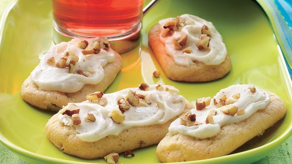 Eggnog Sugar Cookie Logs