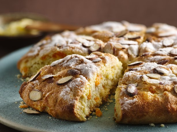 Apricot-Orange Scones