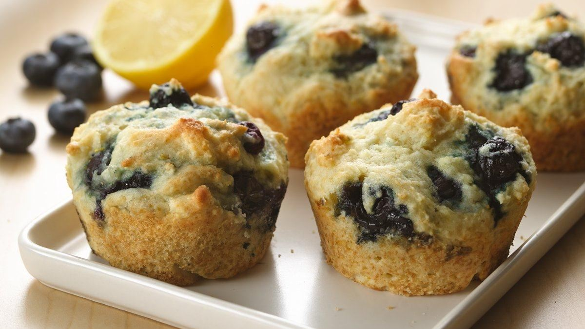 Lemon Blueberry Muffins recipe and reviews - Easy-to-make, studded ...