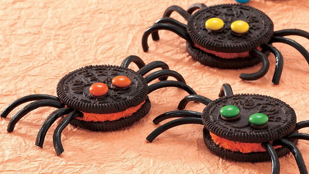Spooky Spider Cookies recipe from Pillsbury.com