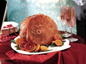 Baked Ham with Balsamic Brown Sugar Glaze