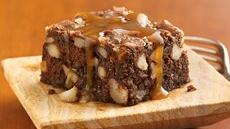Toffee-Banana Brownies Recipe
