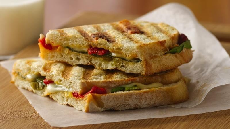 Fontina Panini with Spinach
