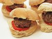 Sarah's Game Day Gorgonzola Bison Sliders