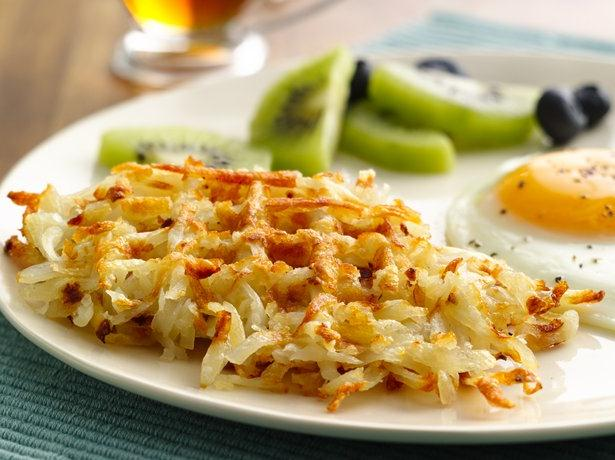 Hash Brown Waffles