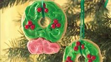 Easy Cookie Wreaths Recipe