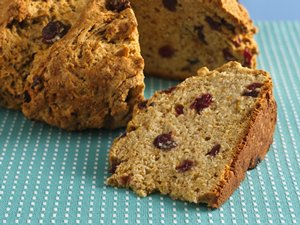 Cranberry-Maple&#32;Soda&#32;Bread