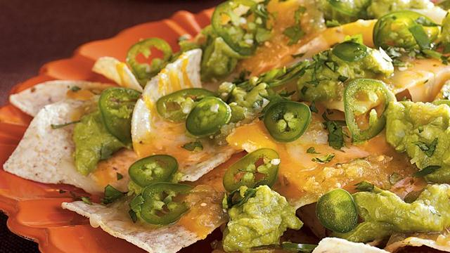 Green Goblin Nachos