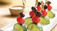 Gluten Free Greek Salad Kabobs
