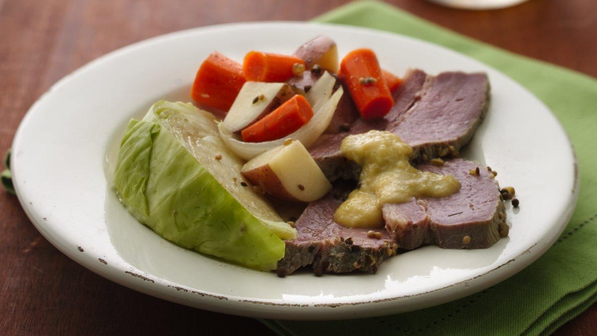 Slow Cooker Corned Beef And Cabbage Life Made Delicious