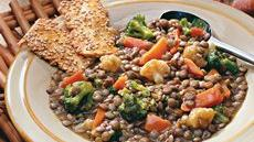 Lentil and Mixed-Vegetable Casserole Recipe