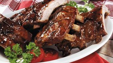 Grilled Sweet and Sassy Ribs