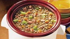 Ham and Lentil Stew Recipe
