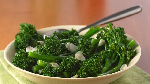 Garlic Baby Broccoli