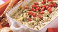 Artichoke Dip with Fresh Herbs Recipe