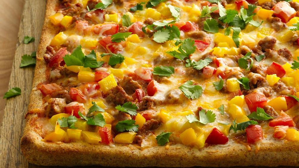Taco Pizza recipe from Pillsbury.com