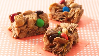 Gluten-Free Peanut and Chocolate Chex® Bars