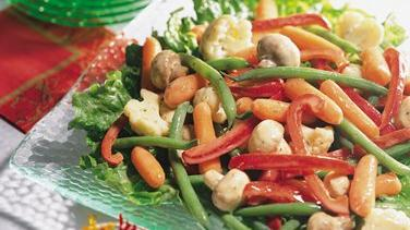 Honey-Mustard Marinated Vegetables