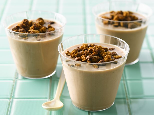 Cocoa-Peanut Butter-Banana Smoothies