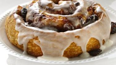 Rum-Raisin Cinnamon Rolls