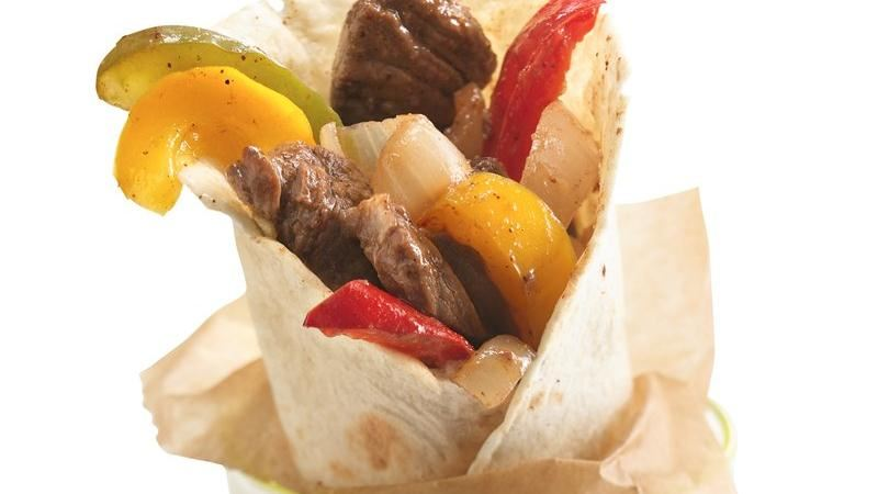 Grilled Beef Fajita Foil Packets