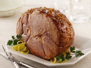 Glazed&#32;Baked&#32;Ham