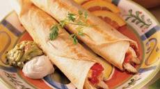Chicken and Cheese Flautas Recipe