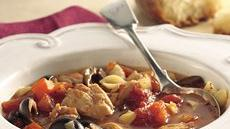 Slow Cooker Italian Chicken-Pasta Soup Recipe