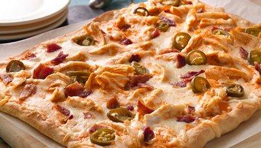 Buffalo Ranch Pizza