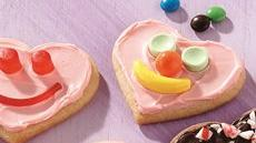 Sweetheart Face Cookies Recipe