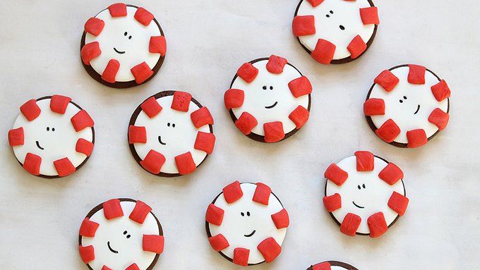 Chocolate Peppermint Patty Cookies recipe - from Tablespoon!