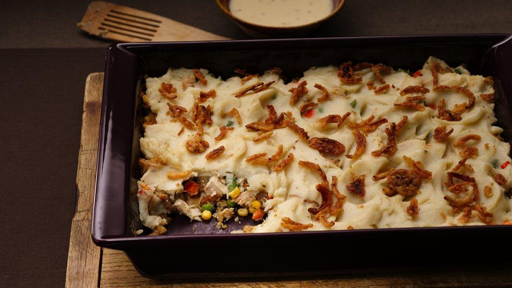 Turkey Leftovers Dinner Casserole