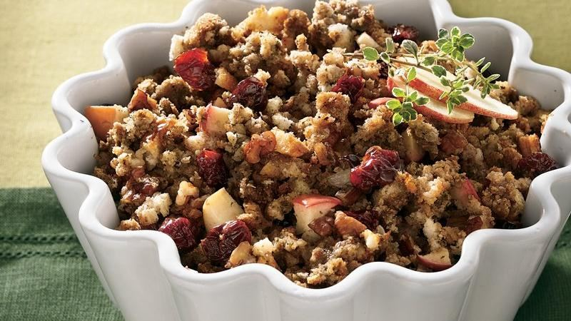Dried Cherry-Apple Stuffing recipe from Betty Crocker