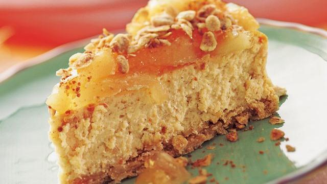 Image of Apple Cinnamon Streusel Cheesecake, Pillsbury