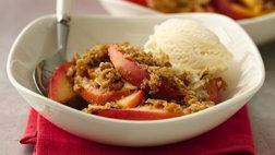 Healthified Apple Crisp