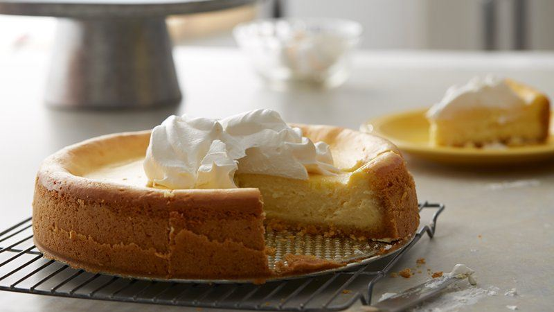 Lemon Cheesecake recipe from Betty Crocker