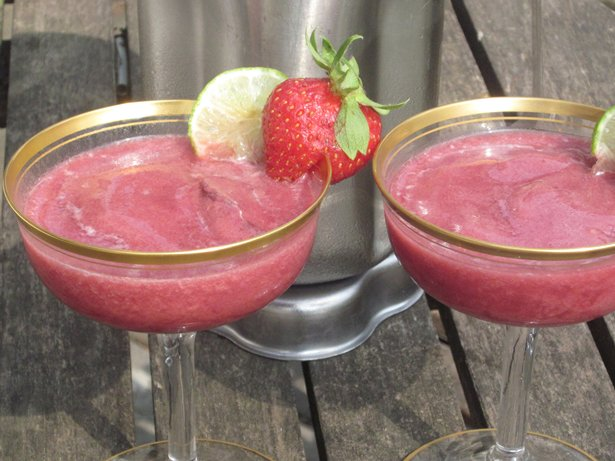 Strawberry-Lime Daiquiri