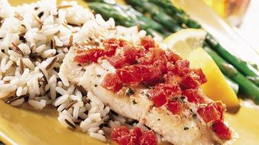 Lemon-Herb Baked Orange Roughy